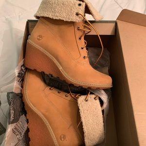 Timberland heeled booties